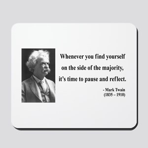 Mark Twain 11 Mousepad