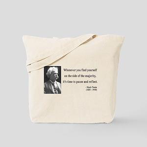 Mark Twain 11 Tote Bag