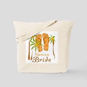 Tropical Cancun Bride Tote Bag