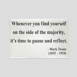 Mark Twain 11 Rectangle Magnet