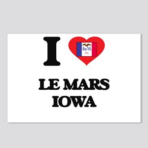 I love Le Mars Iowa Postcards (Package of 8)