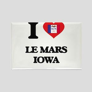 I love Le Mars Iowa Magnets
