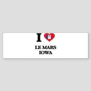 I love Le Mars Iowa Bumper Sticker
