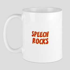 Speech~Rocks Mug