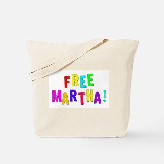Free Martha! Tote Bag