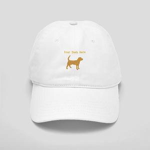 Distressed Brown Beagle (Custom) Baseball Cap