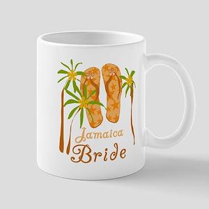 Tropical Jamaica Bride Mug
