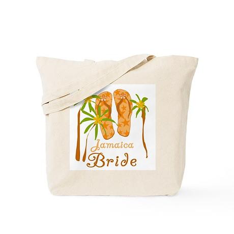 Tropical Jamaica Bride Tote Bag