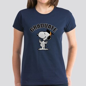 Snoopy Graduate Women's Dark T-Shirt
