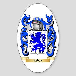 Libby Sticker (Oval)