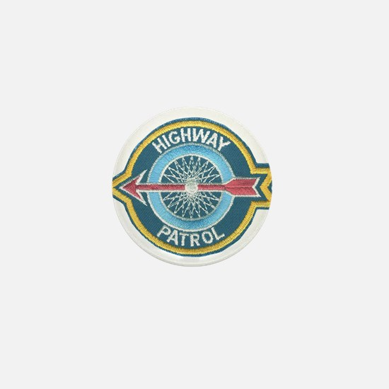 Highway Patrol Mini Button
