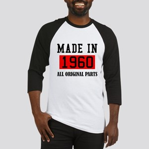 Made in 1960 All Original parts Baseball Jersey