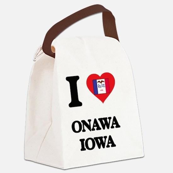 Unique Iowa hawkeyes Canvas Lunch Bag