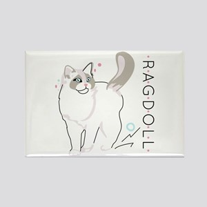 Ragdoll cat Magnets
