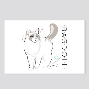 Ragdoll cat Postcards (Package of 8)