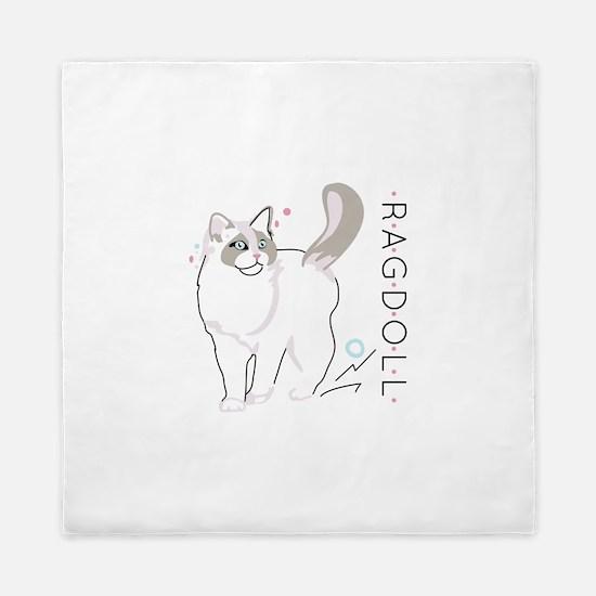 Ragdoll cat Queen Duvet