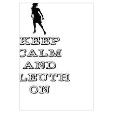 Keep Calm Nancy Drew Poster