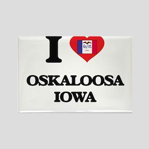 I love Oskaloosa Iowa Magnets