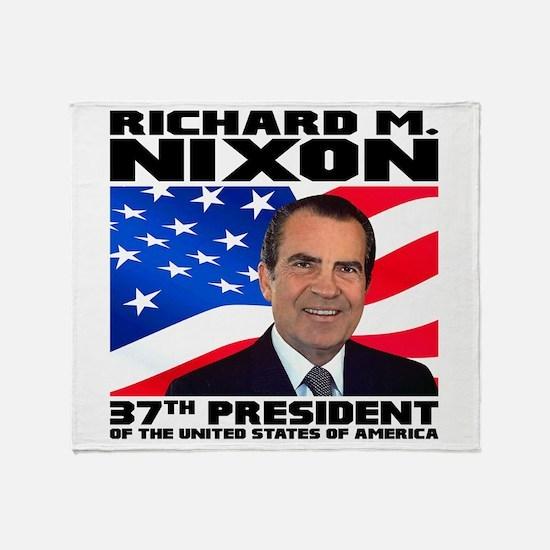 37 Nixon Throw Blanket