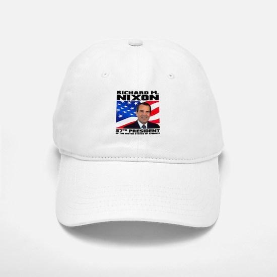 37 Nixon Baseball Baseball Cap