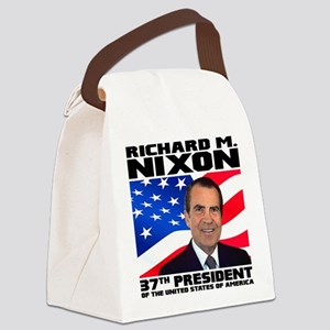 37 Nixon Canvas Lunch Bag