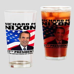 37 Nixon Drinking Glass