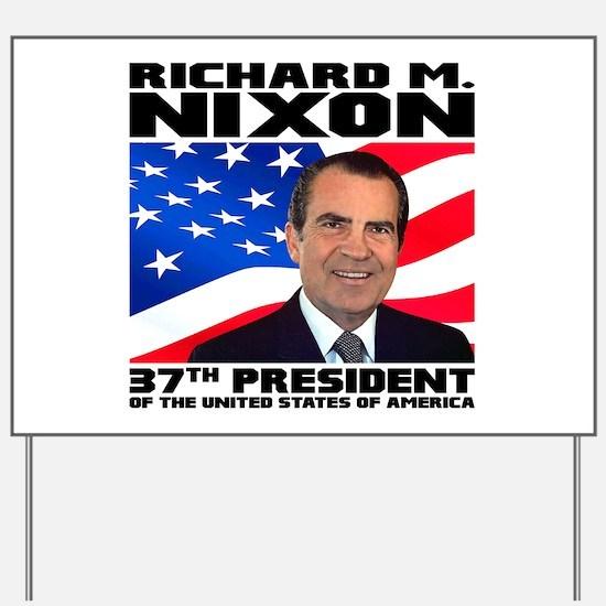 37 Nixon Yard Sign