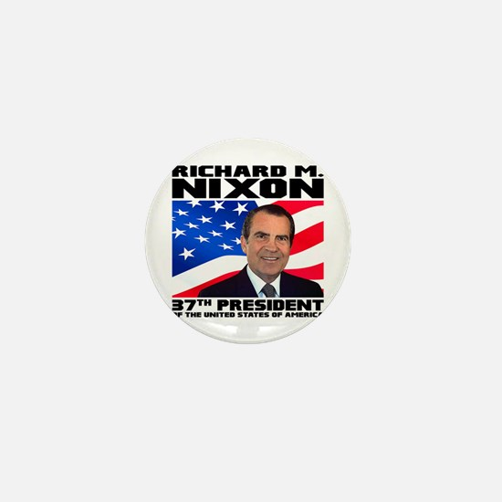 37 Nixon Mini Button