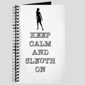 Keep Calm Nancy Drew Journal