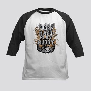 Work Hard Play Muddy Baseball Jersey
