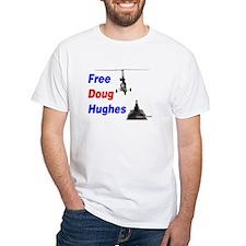 Free Doug Hughes White T-Shirt