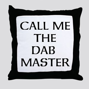 THE DAB MASTER Throw Pillow