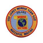 USS JAMES MONROE Button
