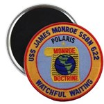 USS JAMES MONROE Magnet