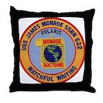 USS JAMES MONROE Throw Pillow