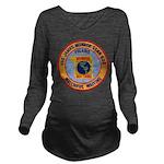USS JAMES MONROE Long Sleeve Maternity T-Shirt