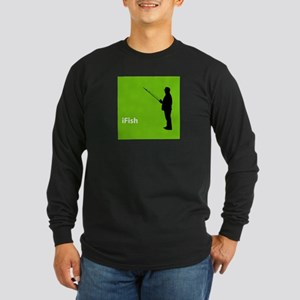 iFish Long Sleeve Dark T-Shirt