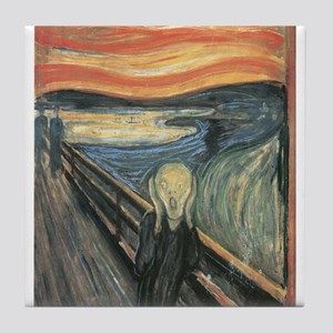 The Scream Tile Coaster
