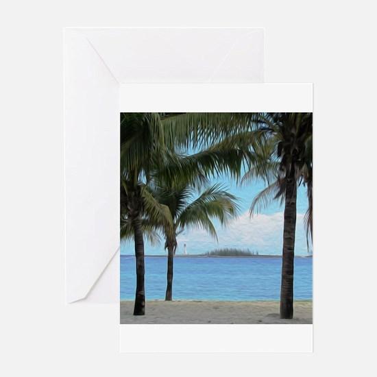 Nassau Bahamas Greeting Cards