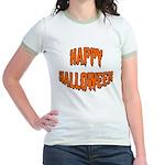 Happy Halloween Jr. Ringer T-Shirt