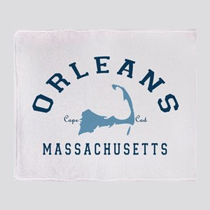 Orleans - Cape Cod. Throw Blanket