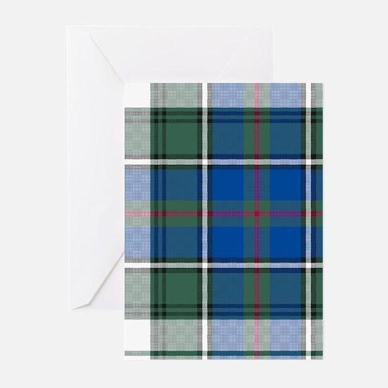 Tartan-MacInnes dress Greeting Cards (Pk of 10)
