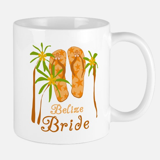 Tropical Belize Bride Mug