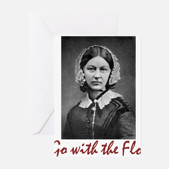 Go with Florence Nightin Greeting Cards