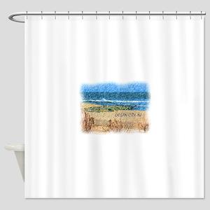 Ocean City NJ Beach Shower Curtain