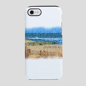 Ocean City NJ Beach iPhone 7 Tough Case