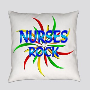 Nurses Rock Everyday Pillow