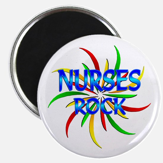 Nurses Rock Magnet