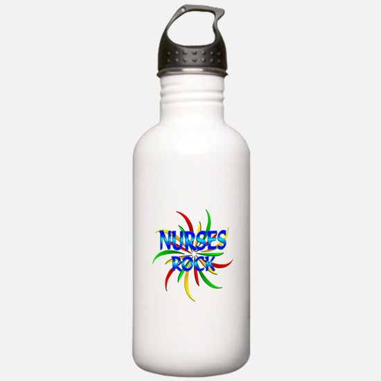 Nurses Rock Sports Water Bottle