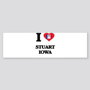 I love Stuart Iowa Bumper Sticker